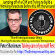 557: Jumping off of a Cliff and Trying to Build a Working Parachute Before You Hit the Ground with Peter Shankman Founder and Owner of Shank Minds - The Entrepreneur Way