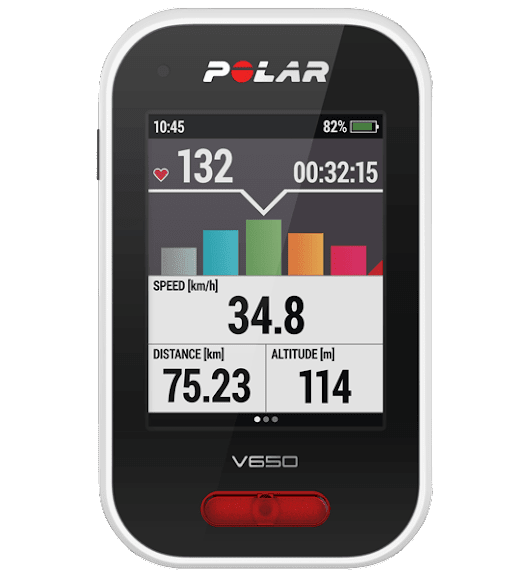Prueba: bike computer Polar V650 - Big Joe