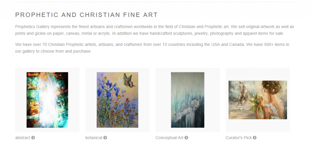 Where to Sell Art Online - Prophetics Gallery