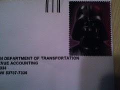 Darth on Mail