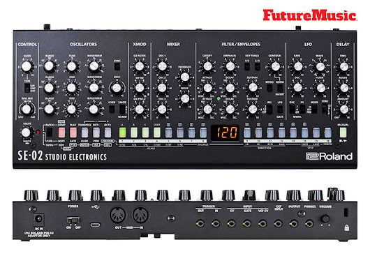 Roland & Studio Electronics Partner On SE-02 Boutique Designer Analog Monophonic Synthesizer | FutureMusic the latest news on future music technology DJ gear producing dance music edm and everything electronic