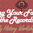 Finding Your Family in the Records Workshop 1 Week from TOMORROW! - Utah State Archives and Records Service