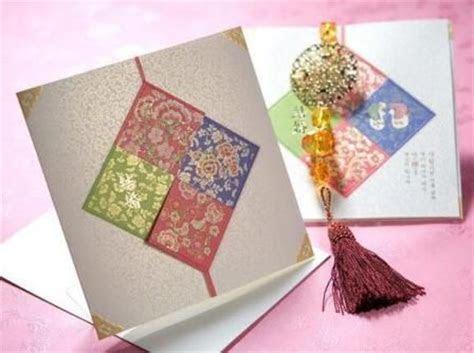 Korean Wedding Invitation Card   WEDDINGS   Pinterest