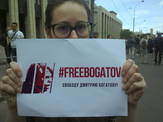 #freeBogatov — Global Call for Action: 'Selfie Protests' — Russian embassies
