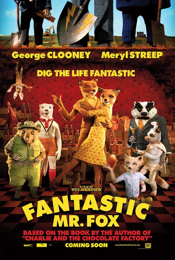 FANTASTIC MR. FOX poster [click to enlarge]
