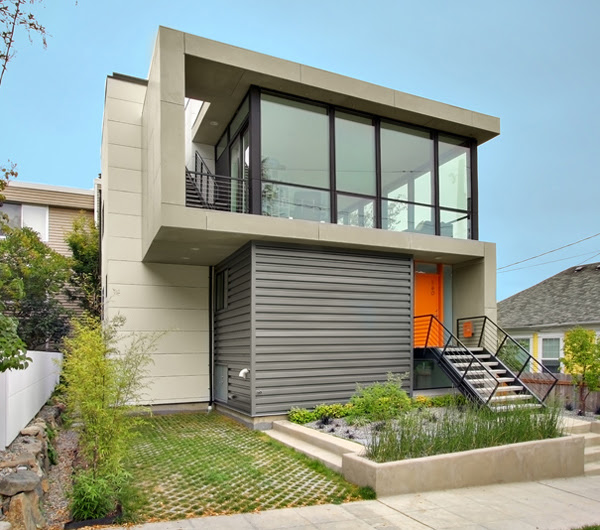 Images Of Small Modern Houses - Native Home Garden Design