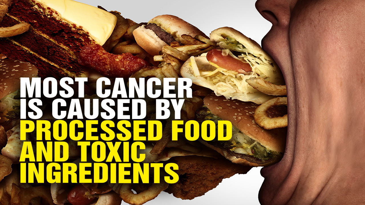 Image: Most Cancer Is Caused by Processed Food and Toxic Ingredients, New Study Confirms (Video)