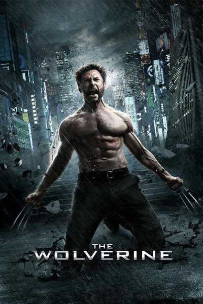 Hugh Jackman takes his top off for The Wolverine Movie Poster