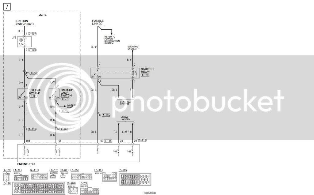 Mitsubishi 4m41 Wiring Diagram