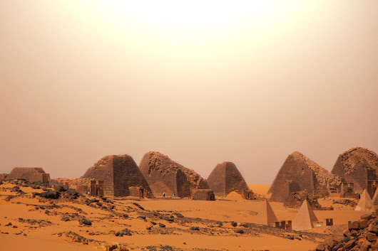 The country with more pyramids than Egypt – but no tourists