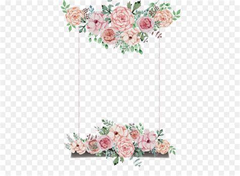 Wedding invitation Flower   Hand painted flower theme