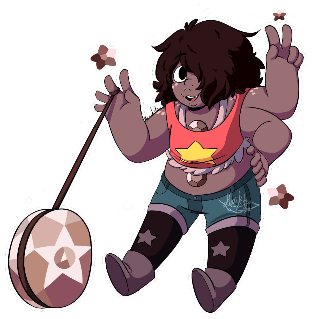 My new favorite fusion is now my life ♥ Smoky Quartz ♥ Twitter || Patreon || DeviantArt