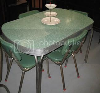 1950 39 s atomic ranch house blog logo design 1950 s formica tables - Formica top kitchen table ...