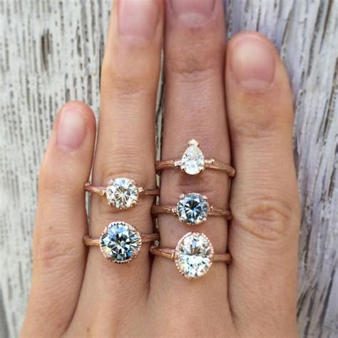 1000  ideas about Moissanite on Pinterest   Wedding and