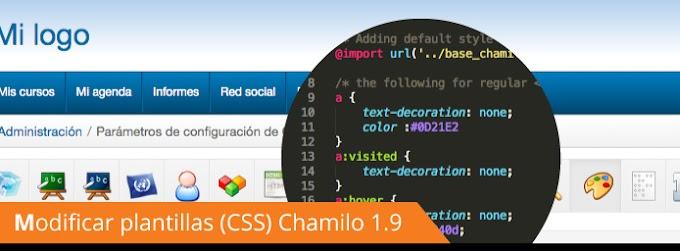 Personalización de Chamilo LMS a la imagen Corporativa Institucional