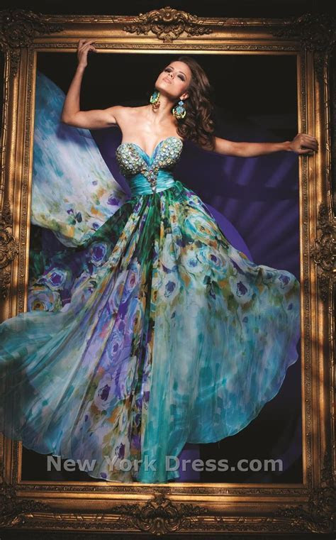 1000  images about Tony Bowls Peacock Dresses on Pinterest