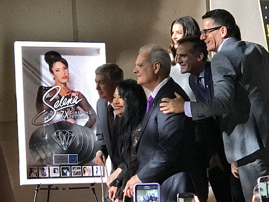 Selena got her Hollywood star: The Queen of Tejano is remembered in an emotional ceremony