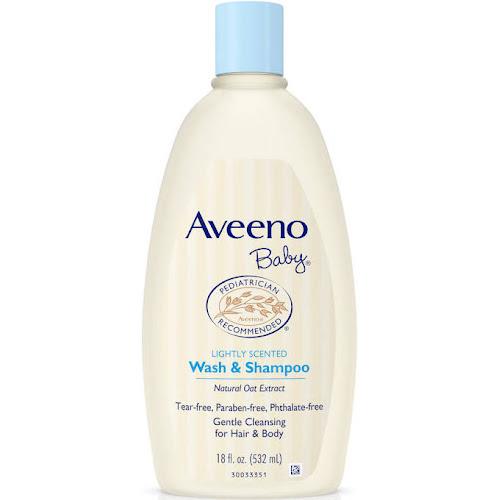 Aveeno Baby Wash & Shampoo - 18 fl oz bottle