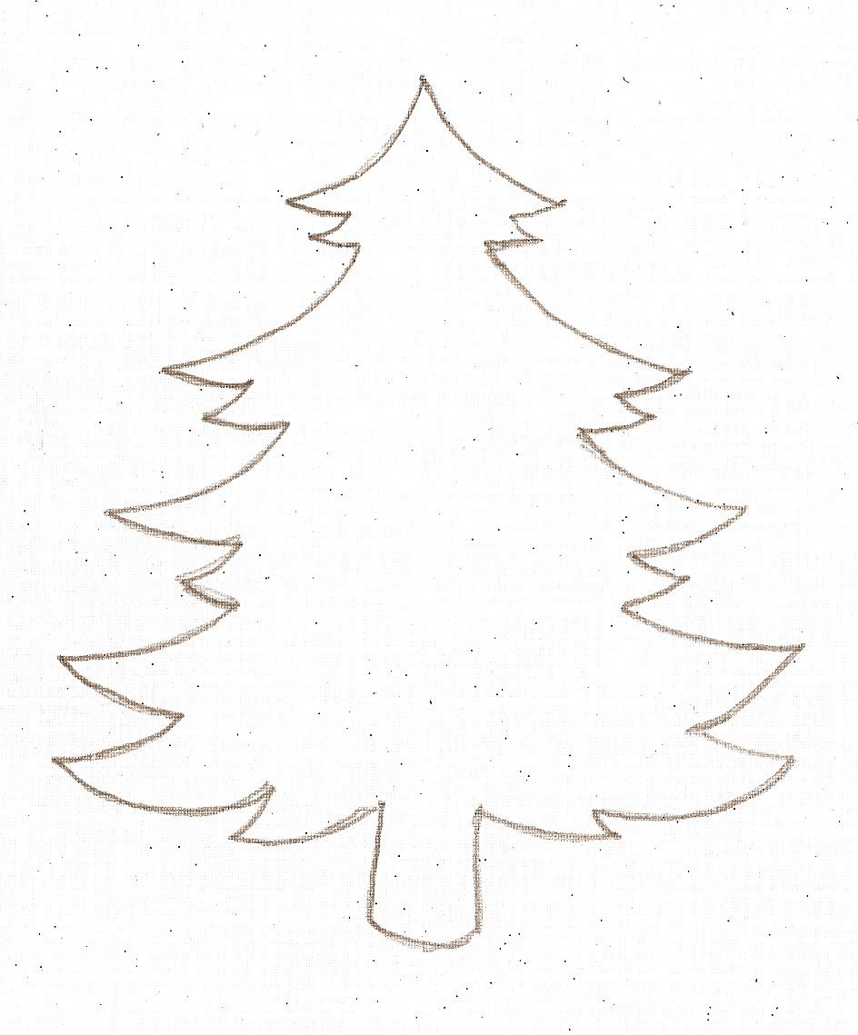 Plain Christmas Trees - ClipArt Best