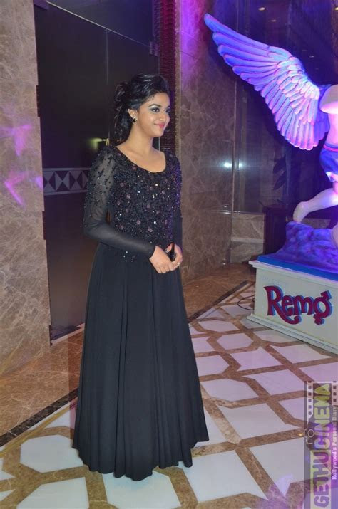 keerthy suresh  latest event gallery remo success