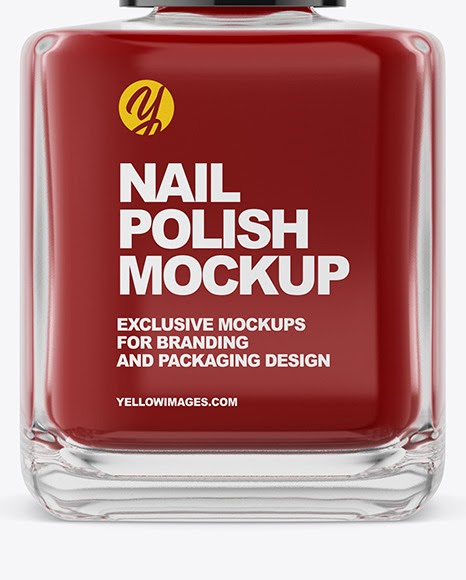 Download Nail Polish Bottle Mockup Yellowimages Free Psd Mockup Templates PSD Mockup Templates