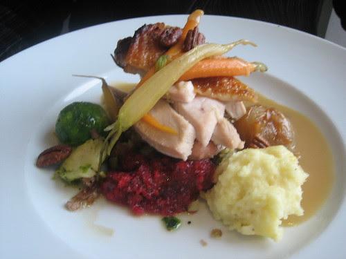 Rialto Thanksgiving turkey dinner