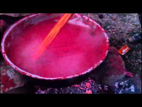 Bozkır'da Salça Kaynatımı