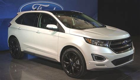 ford edge sport redesign ford trend