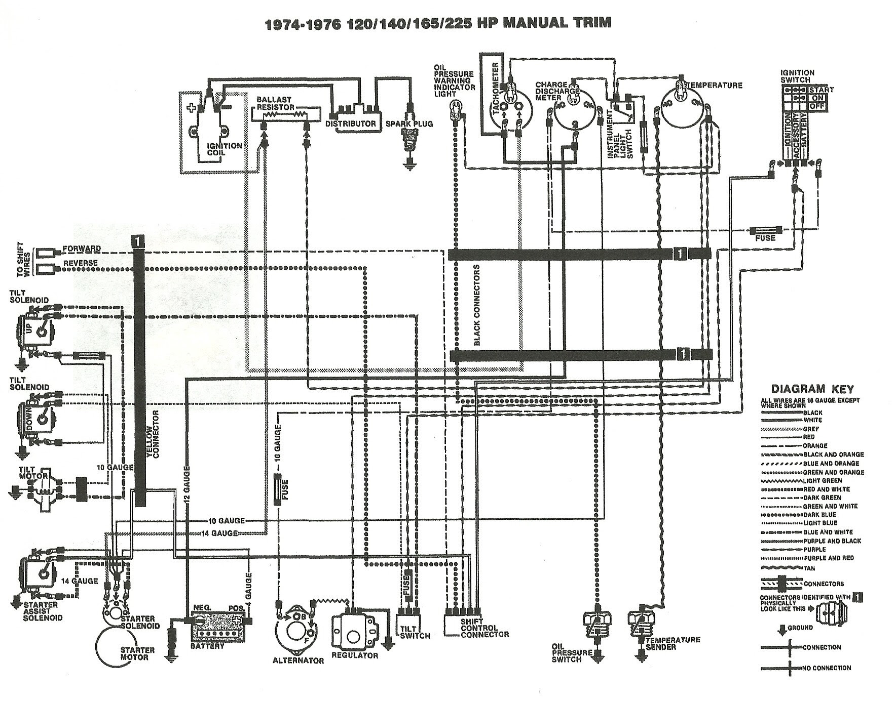 Wiring Manual PDF: 120 Hp Mercruiser Engine Diagram
