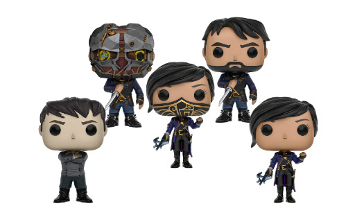 Dishonored 2 Vinyl Figures Added to Funko Pop Games