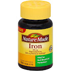 Nature Made Iron, 65 mg, Tablets - 180 count