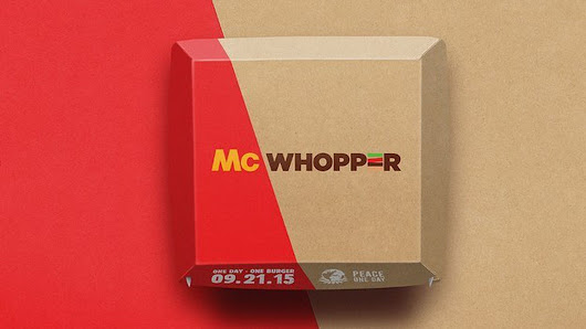 McDonald's politely declines Burger King's offer of world peace