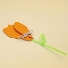 3D Flower Card craft for kids