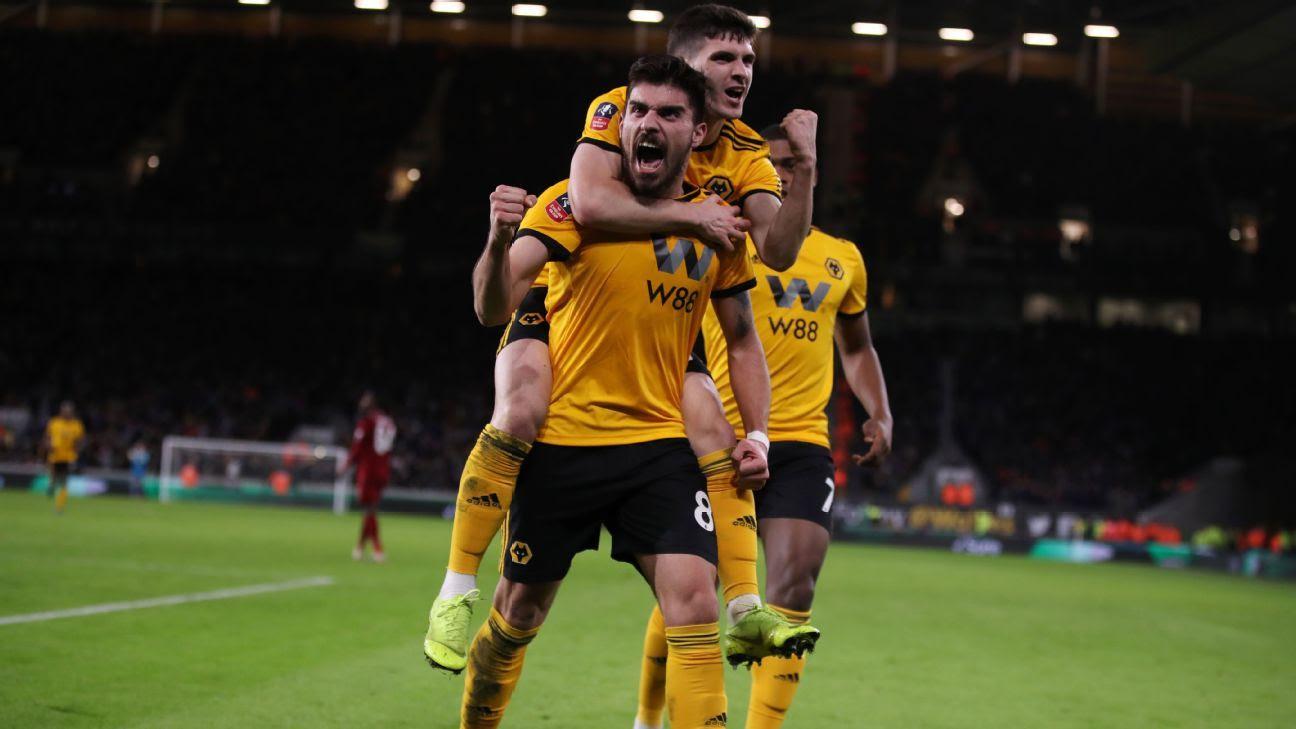 Kết quả hình ảnh cho Wolverhampton Wanderers 2019