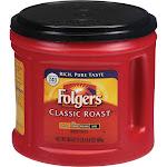 Folgers Classic Roast Ground Coffee, Medium - 30.5 oz canister
