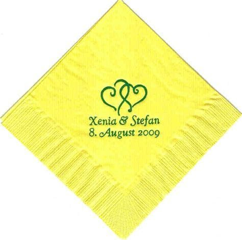 200 PERSONALIZED luncheon dinner NAPKINS WEDDING   eBay