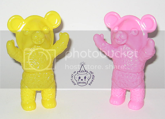 FuKu Bear ( Blank Pink ) & ( Blank Yellow ) - Don't Cry In The Morning