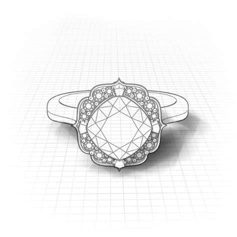 Chevron Halo Peridot Ring   Jewelry Designs