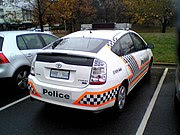 Australian Federal Police Prius Car