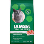 Iams ProActive Health Healthy Senior Dry Cat Food, 7 lbs.