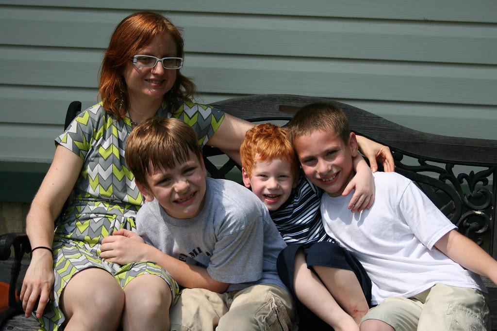 With my nephews, 5-09