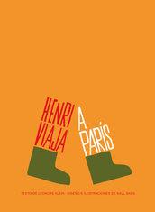"""""""Herny viaja a París"""" de Saul Bass y Leonore Klein. Edita Gustavo Gili"""