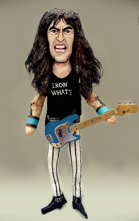Iron Maiden founder and bass player, Steve Harris