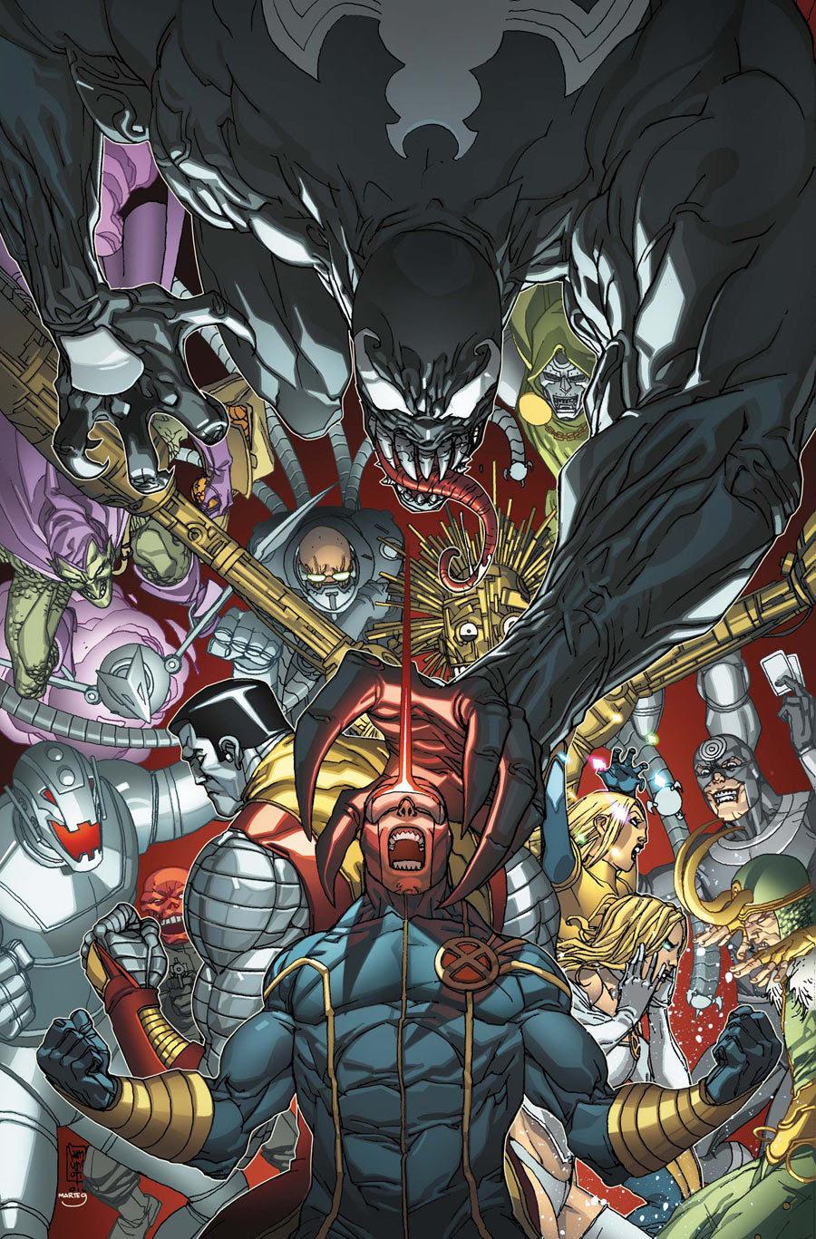 X-Men Vs Marvel Villains by Giuseppe Camuncoli