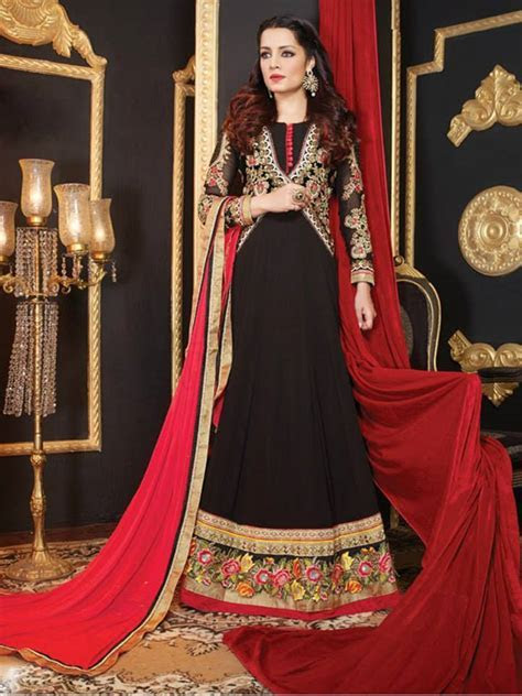 Latest Anarkali Suits & Dresses Designs 2018 2019 Indian