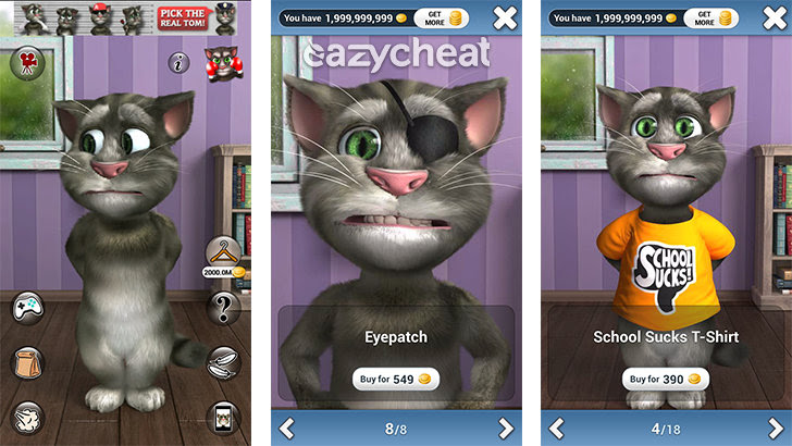 Talking Tom Cat 2 v5.0.1 Cheats