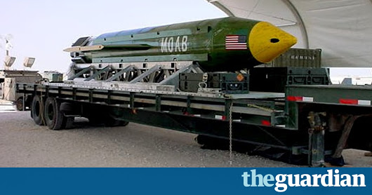 MOAB attack on Isis was a baffling choice in cold-blooded terms of cost | US news | The Guardian