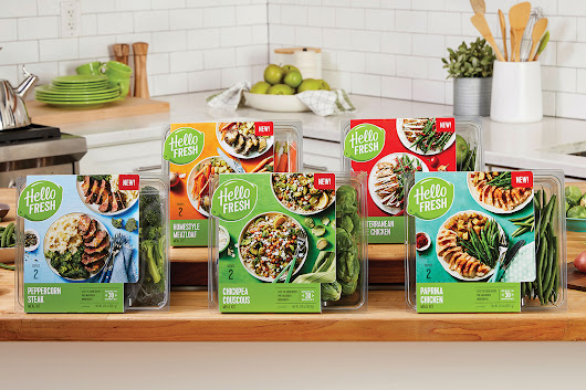 HelloFresh Launches Retail Product Line | Project NOSH