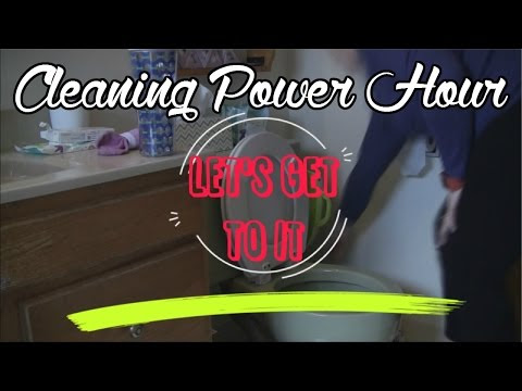 Cleaning Power Hour - What Finally Worked For Me