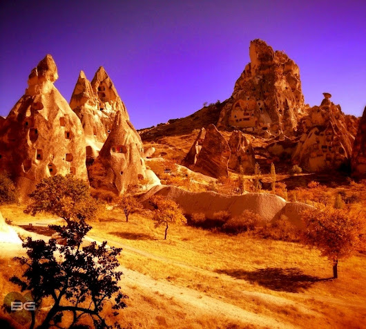 A Little Cappadocia Fauxtography | The Blonde Gypsy